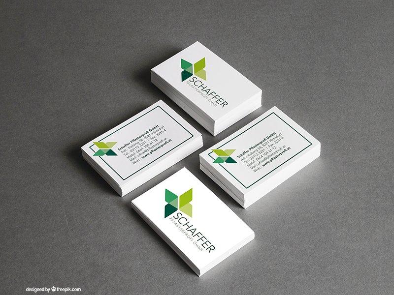Logo und Visitenkarten designen lassen